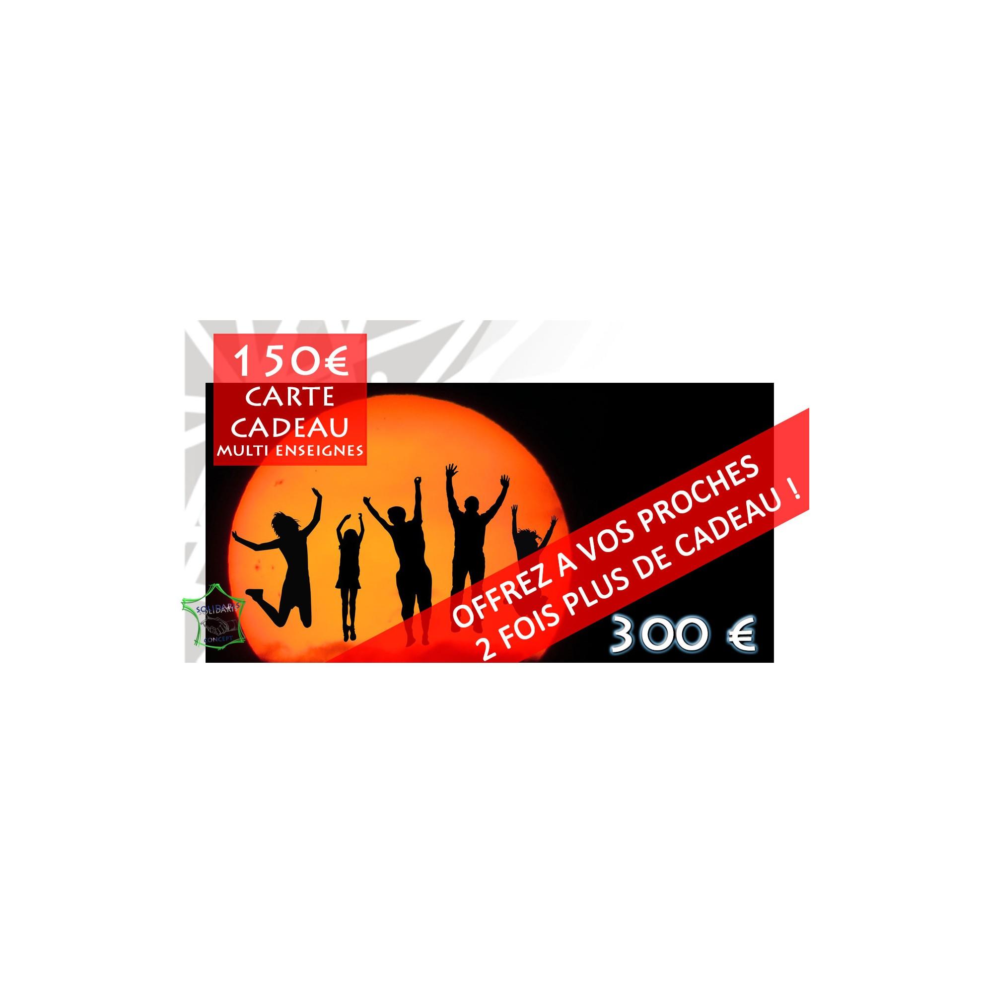 Carte 150 Multi Enseignes